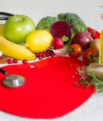 Regjimi ushqimor DASH për tensionin e lartë të gjakut