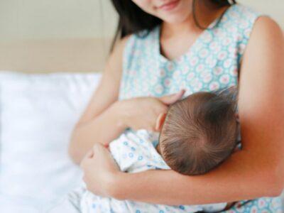 Nëna dhe fëmija/ Ragadet, çarjet e thithave të gjirit